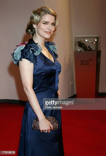 Julia Valet presenter attends the Montblanc VIP Charity Gala held at the Monte Carlo Sporting Club on November 14 2007 in Monte Carlo Monaco The...