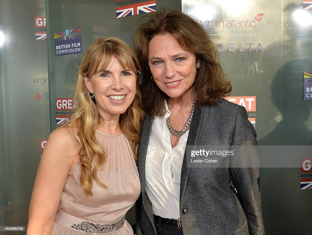 Julia Verdin (L) and actress Jacqueline Bisset attend the GREAT British film reception honoring the British nominees of the 87th Annual Academy Awards at The London West Hollywood on February 20, 2015 in West Hollywood, California.