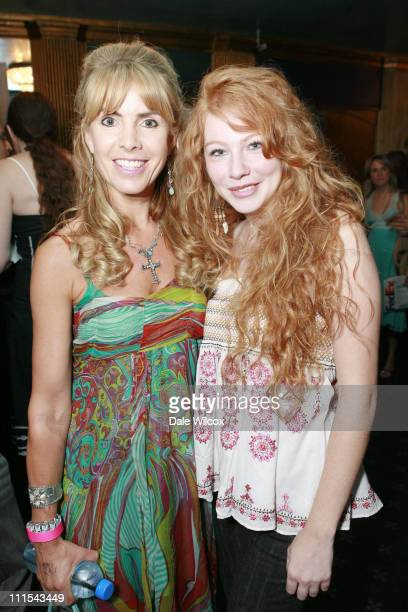 Julia Verdin and Shayna Rose during Gen Art Ignite Event August 17 2006 at Henry Fonda Theater in Hollywood CA United States