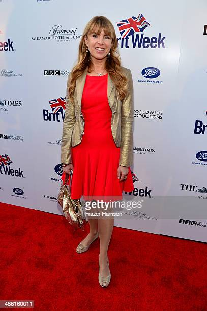 Julia Verdin attends the 8th Annual BritWeek Launch Party at a private residence on April 22 2014 in Los Angeles California