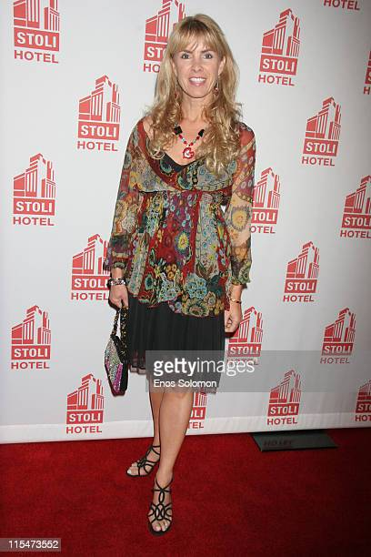 Julia Verdin during Gen Art Presents the Los Angeles Fashion Design Debut of Jovovich Hawk at Stoli Hotel in Hollywood California United States