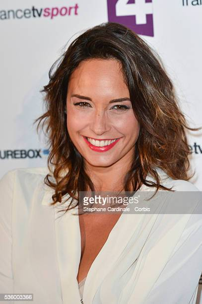 Julia Vignali attends 'France Televisions' Photocall at Palais De Tokyo on August 26 2014 in Paris France