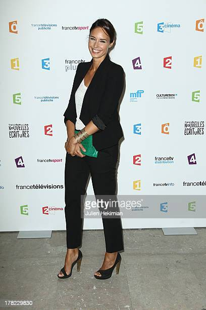 Julia Vignali attends 'La Rentree France Televisions' at Palais De Tokyo on August 27 2013 in Paris France