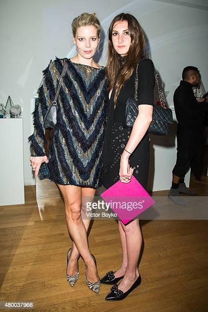 Julia von Boehm Allison Bornstein attends Venyx Cocktail as part of Paris Fashion Week Haute Couture Fall/Winter 2015/2016> on July 7 2015 in Paris...