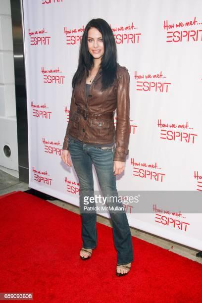 Julia Voth attends Esprit Santa Monica Store Launch at Esprit on April 2 2009 in Santa Monica Ca