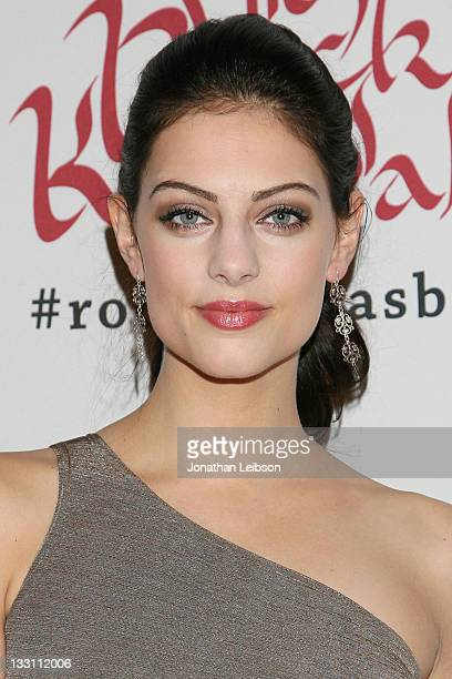 Julia Voth attends Sir Richard Branson And Eve Branson 5th Annual Rock The Kasbah Fundraising Gala at Boulevard 3 on November 16 2011 in Hollywood...