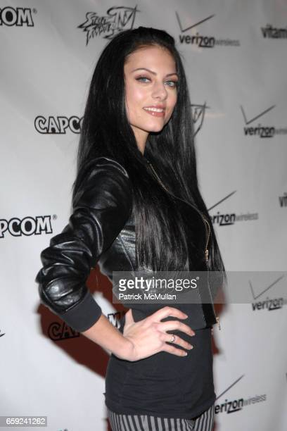 Julia Voth attends Street Fighter IV Launch Party Presented by CAPCOM at The Geffen Contemporary at Museum of Contemporary Art on February 12 2009 in...