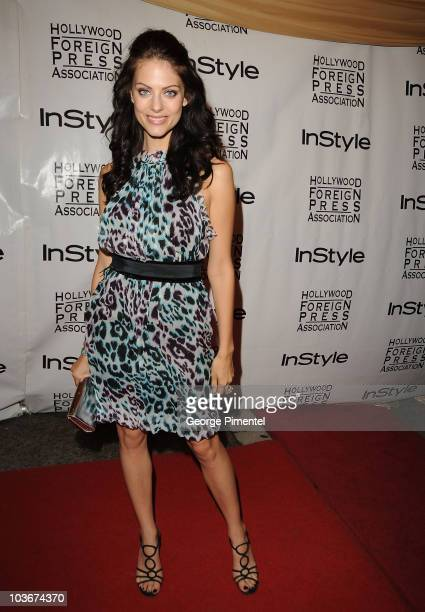 Julia Voth attends the InStyle Party held at the Windsor Arms Hotel during the 2009 Toronto International Film Festival on September 15 2009 in...