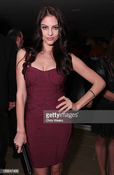 Julia Voth attends the launch of CULO by Mazzucco at Sunset Marquis Hotel Villas on November 19 2011 in West Hollywood California
