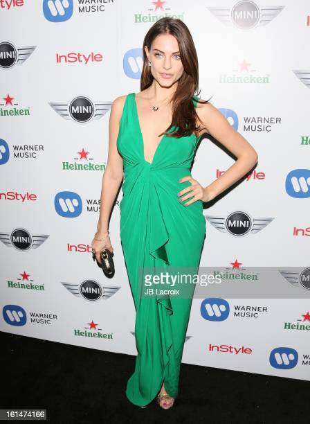 Julia Voth attends the Warner Music Group 2013 Grammy Celebration Presented By Mini held at Chateau Marmont on February 10 2013 in Los Angeles...