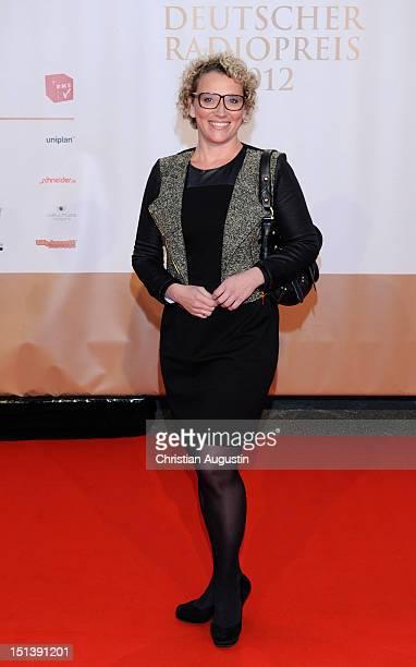 Julia Westlake attends Deutscher Radiopreis 2012 at Schuppen 52 on September 6 2012 in Hamburg Germany