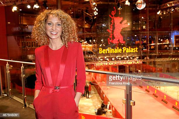 Julia Westlake attends the Audi Lounge Day 3 at Audi at The 64th Berlinale International Film Festival at Berlinale Palast on February 08 2014 in...