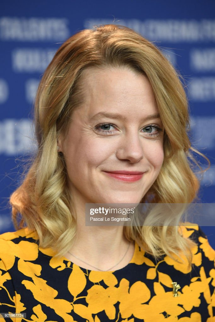 Julia Zange attends the 'My Brother's Name is Robert and He is an Idiot' (Mein Bruder heisst Robert und ist ein Idiot) press conference during the 68th Berlinale International Film Festival Berlin at Grand Hyatt Hotel on February 21, 2018 in Berlin, Germany.