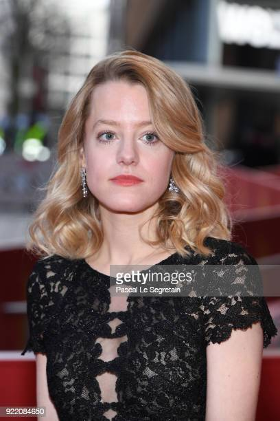 Julia Zange attends the 'My Brother's Name is Robert and He is an Idiot' premiere during the 68th Berlinale International Film Festival Berlin at...