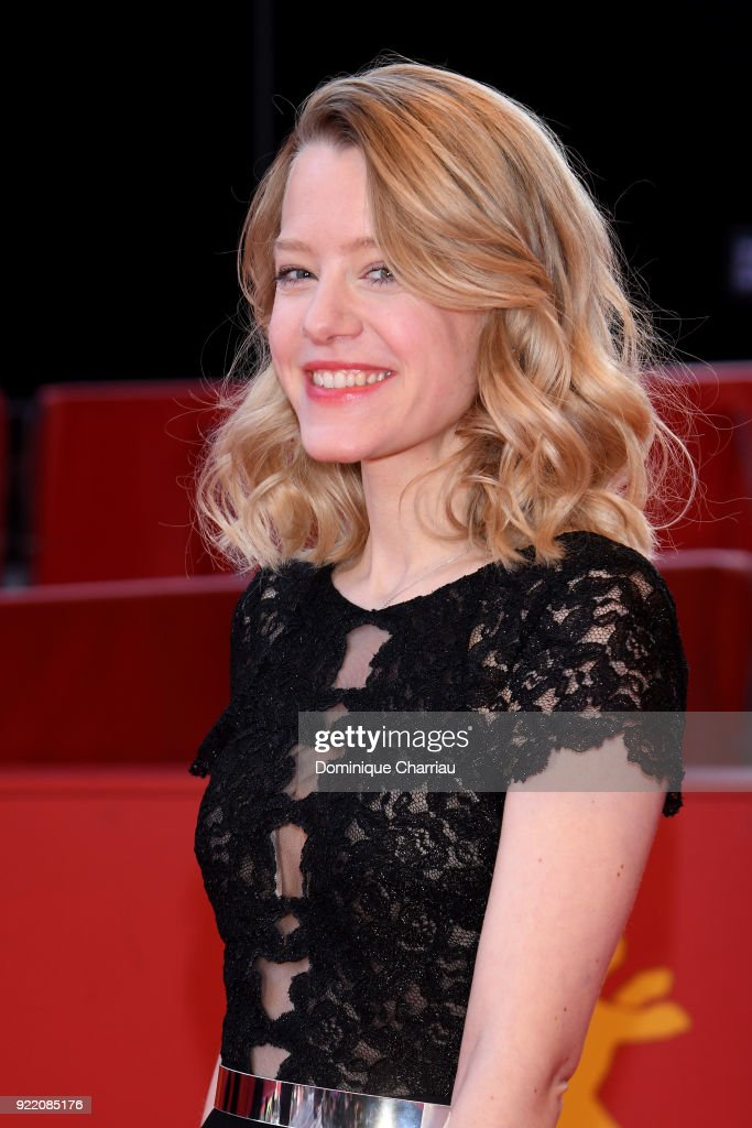 Julia Zange attends the 'My Brother's Name is Robert and He is an Idiot' (Mein Bruder heisst Robert und ist ein Idiot) premiere during the 68th Berlinale International Film Festival Berlin at Berlinale Palast on February 21, 2018 in Berlin, Germany.