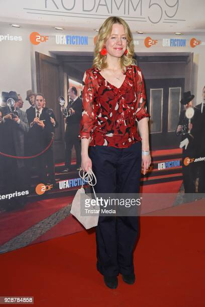 Julia Zange during the premiere of 'Ku'damm 59' at Cinema Paris on March 7 2018 in Berlin Germany