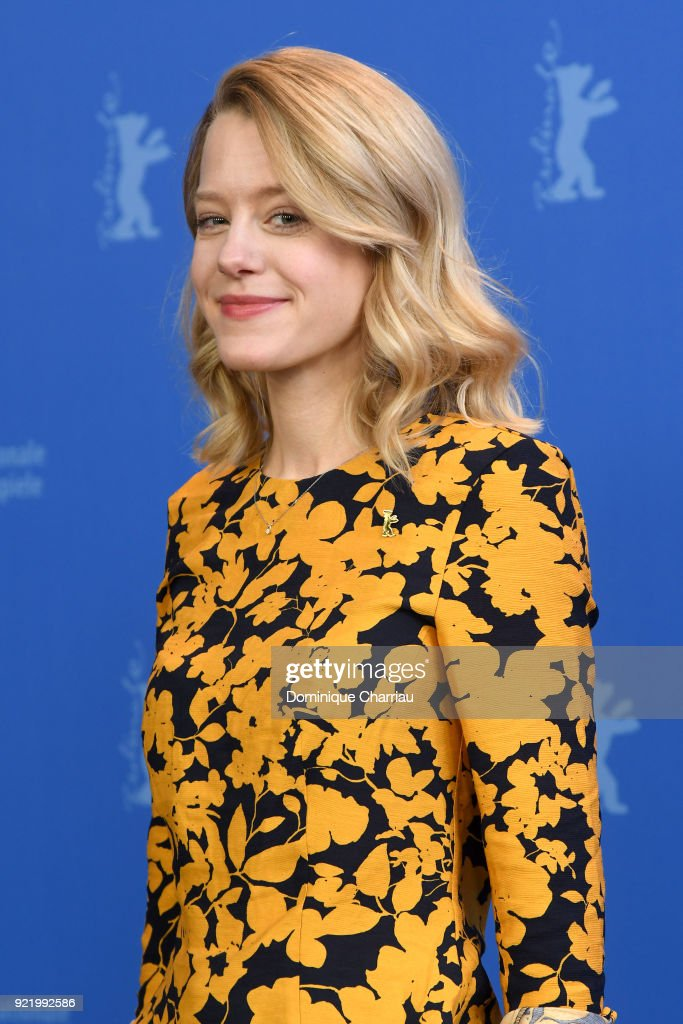 Julia Zange poses at the 'My Brother's Name is Robert and He is an Idiot' (Mein Bruder heisst Robert und ist ein Idiot) photo call during the 68th Berlinale International Film Festival Berlin at Grand Hyatt Hotel on February 21, 2018 in Berlin, Germany.