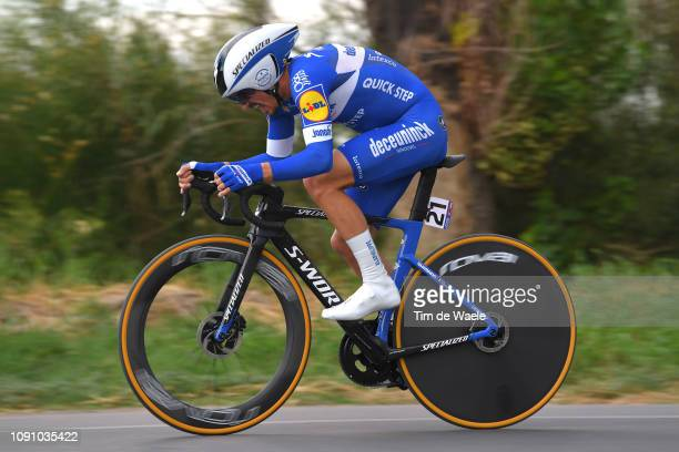 Julian Alaphilippe of France and Deceuninck - Quick-Step Team / during the 37th Tour of San Juan 2019, Stage 3 a 12km Individual Time Trial stage...