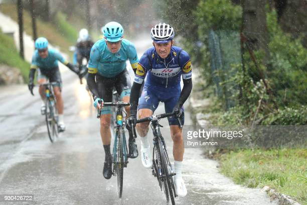 Julian Alaphilippe of France and QuickStep Floors during the 76th Paris Nice 2018 Stage 8 a 110km stage from Nice to Nice on March 11 2018 in Nice...