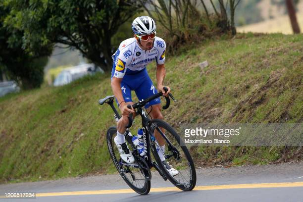 Julian Alaphilippe of France and Team Deceuninck - Quick Step / during the 3rd Tour of Colombia 2020, Stage 5 a 180,5km stage from Paipa to Zipaquirá...