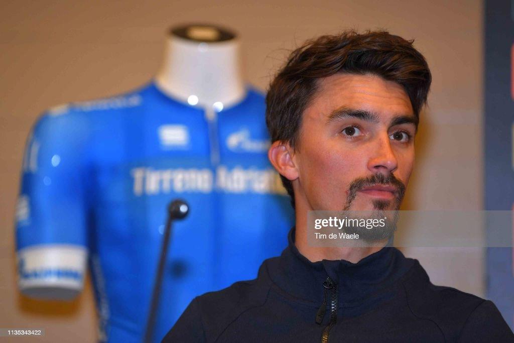 54th Tirreno-Adriatico 2019 - Top Riders Press Conference : ニュース写真