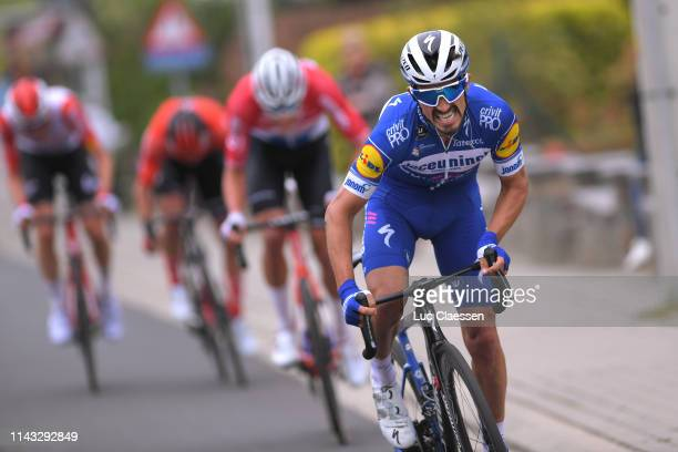 Julian Alaphilippe of France and Team Deceuninck - Quick-Step / during the 59th Brabantse Pijl 2019 a 196,2km race from Leuven to Overijse / La...
