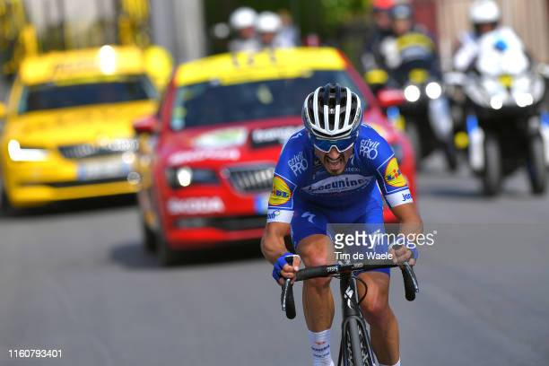 Julian Alaphilippe of France and Team Deceuninck - Quick-Step / during the 106th Tour de France 2019, Stage 3 a 215km stage from Binche to Épernay...