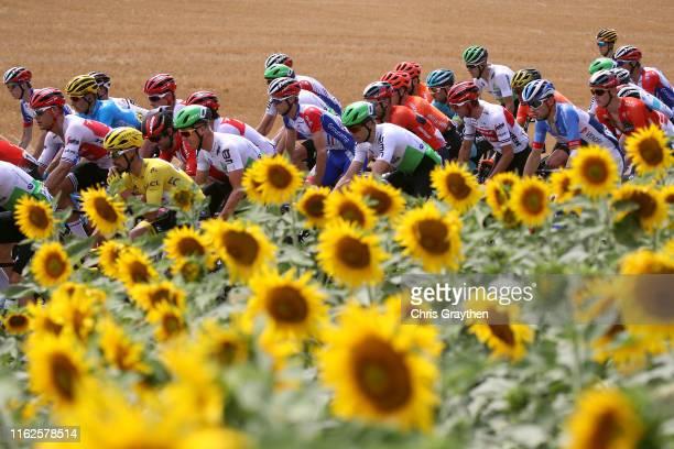 Julian Alaphilippe of France and Team Deceuninck - Quick-Step Yellow Leader Jersey / Jasper Stuyven of Belgium and Team Trek-Segafredo / Michael...