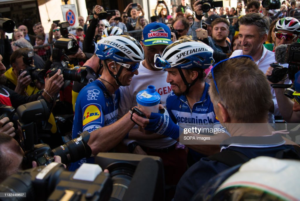 Julian Alaphilippe of France and Team Deceuninck, Zdenek... : News Photo