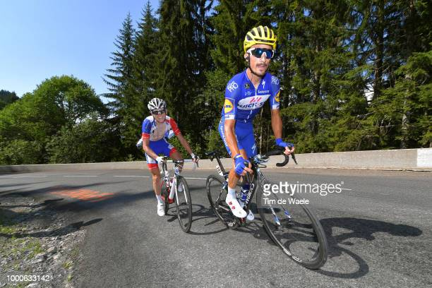 Julian Alaphilippe of France and Team Quick-Step Floors / David Gaudu of France and Team Groupama FDJ / during the 105th Tour de France 2018 / Stage...