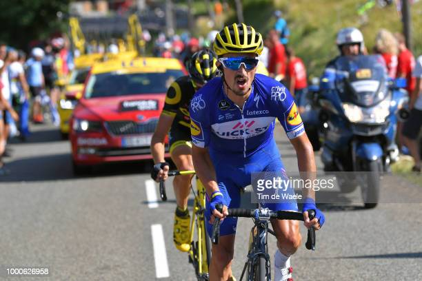 Julian Alaphilippe of France and Team QuickStep Floors / Rein Taaramee Estonia and Team Direct Energie / during the 105th Tour de France 2018 / Stage...