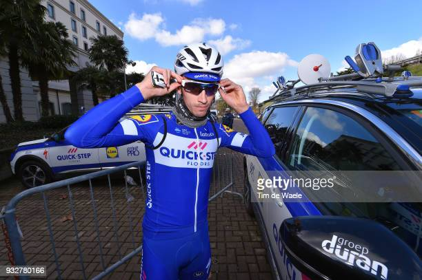 Julian Alaphilippe of France during training of Team Quick-Step Floors for 109th Milan-San Remo 2018 on March 16, 2018 in Milan, Italy.
