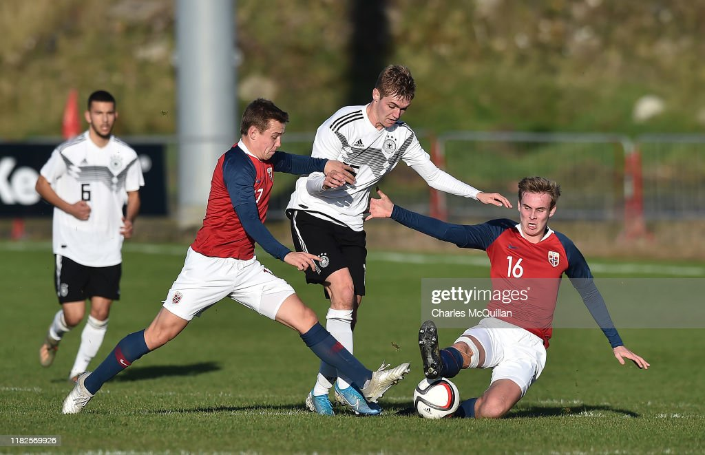 U19 Germany v U19 Norway - U19 Four-Nations Tournament : News Photo