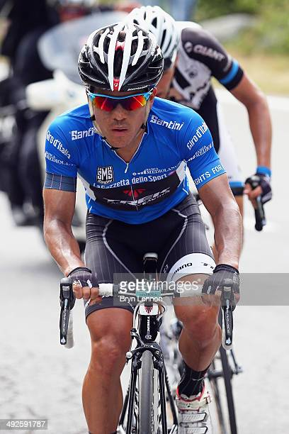 Julian Arredondo of Colombia and Trek Factory Racing Team in action during the eleventh stage of the 2014 Giro d'Italia a 249km medium mountain stage...