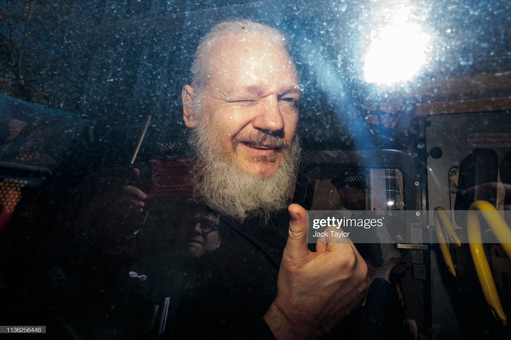 Julian Assange Appears At Westminster Magistrates Court : News Photo