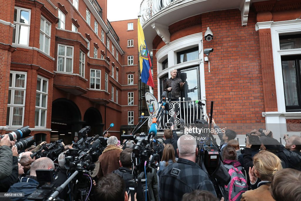 Sweden Announce That They Are Dropping Rape Charges Against Julian Assange : News Photo