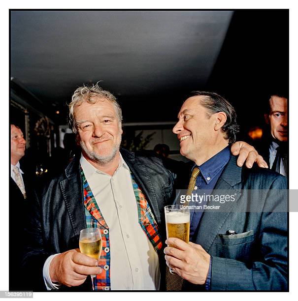 Julian Bannerman and Jools Holland are photographed at 5 Hertford Street, which is home to nightclub Loulou's, for Vanity Fair Magazine on June 11,...