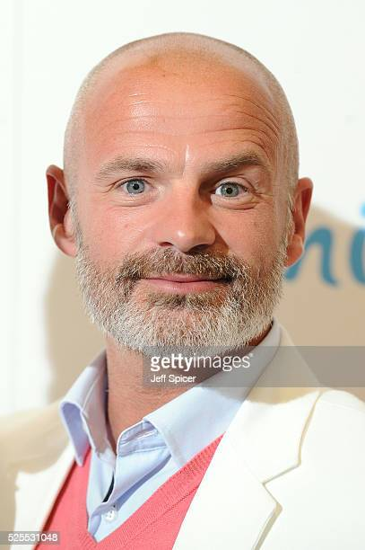 Julian Bennett arrives at the launch of the 2016 annual BLOCH Dance World Cup on April 28 2016 in London England