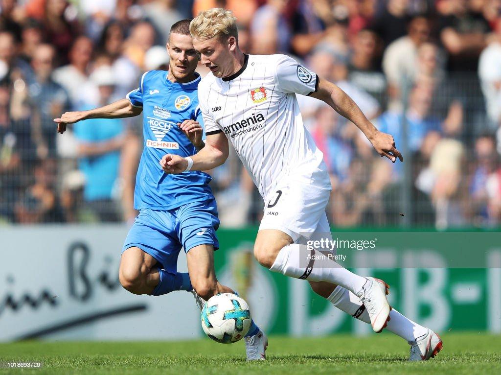 1. CfR Pforzheim v Bayer Leverkusen - DFB Cup
