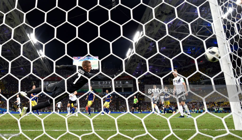 Germany v Sweden: Group F - 2018 FIFA World Cup Russia : News Photo