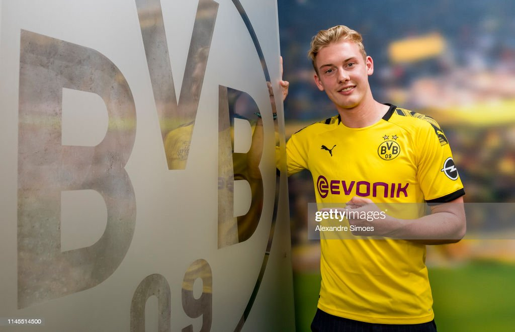 DEU: Borussia Dortmund Unveils New Signing Julian Brandt