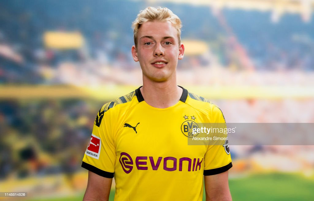 Borussia Dortmund Unveils New Signing Julian Brandt : News Photo