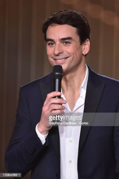 Julian Bugier attends the 35th 'Les Victoires De La Musique' Show At La Seine Musicale on February 14 2020 in BoulogneBillancourt France