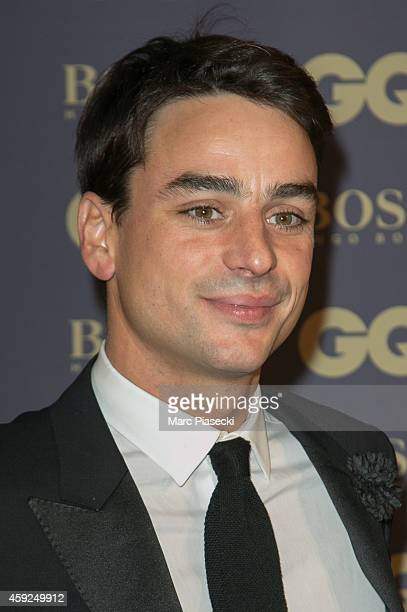Julian Bugier attends the 'GQ Men of the Year 2014' photocall at Musee d'Orsay on November 19 2014 in Paris France