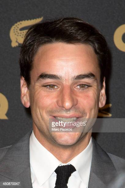 Julian Bugier attends the 'GQ Men of the year awards 2013' at Museum d'Histoire Naturelle on November 20 2013 in Paris France