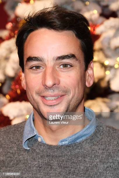 Julian Bugier attends the Peres Noel Verts By Le Secours Populaire Launch at Cirque du Phenix on November 20 2019 in Paris France