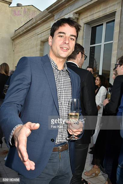 Julian Bugier attends Zadig Voltaire New Perfume Launch Launch Party at 51 Avenue Iena on June 9 2016 in Paris France Ê