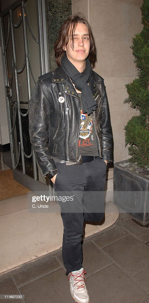 Members of The Strokes Sighting at Claridge's Hotel in London - January 24, 2006