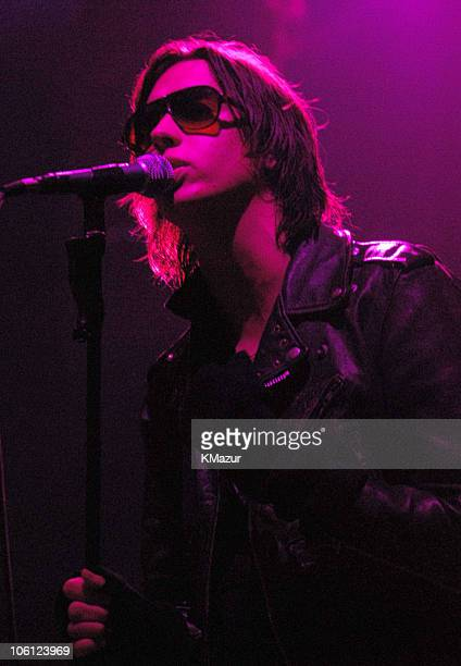 Julian Casablancas of The Strokes during Hennessy Presents the Global Art of Mixing Inside October 17 2006 at Capitale in New York City New York...