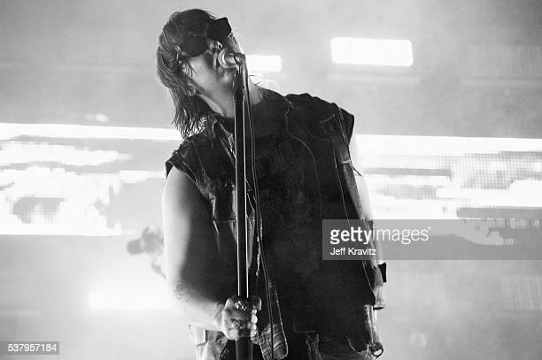 Julian Casablancas of The Strokes performs onstage during the 2016 Governors Ball Music Festival at Randall's Island on June 3 2016 in New York City